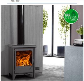 ESTUFA Serie Premium Mod. Lille  ref. 530 Eco-Design