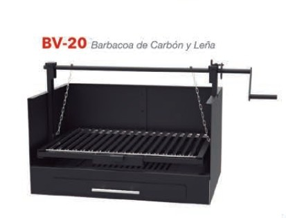 Barbacoa Carbón Vegetal BV-20