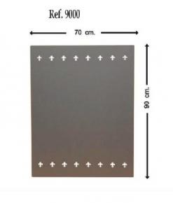 Placa protección pared