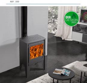 ESTUFA Serie Premium Mod. Frankfurt  ref. 550 Eco-Design