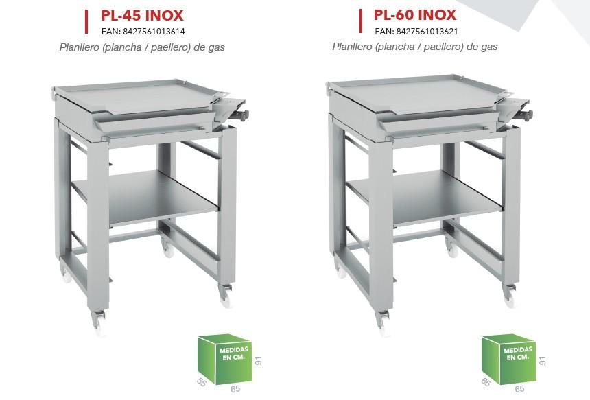 Barbacoa Planllero PL45 Inox