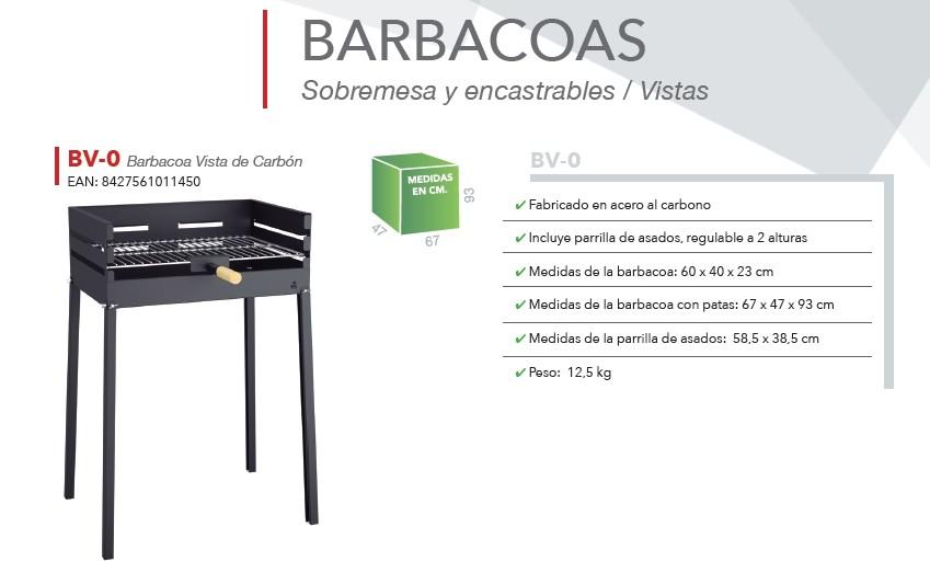 Barbacoa Carbon vegetal BV-0