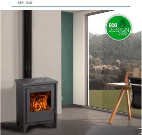 ESTUFA Serie Premium Mod. Bordeaux ref. 510 Eco-Design